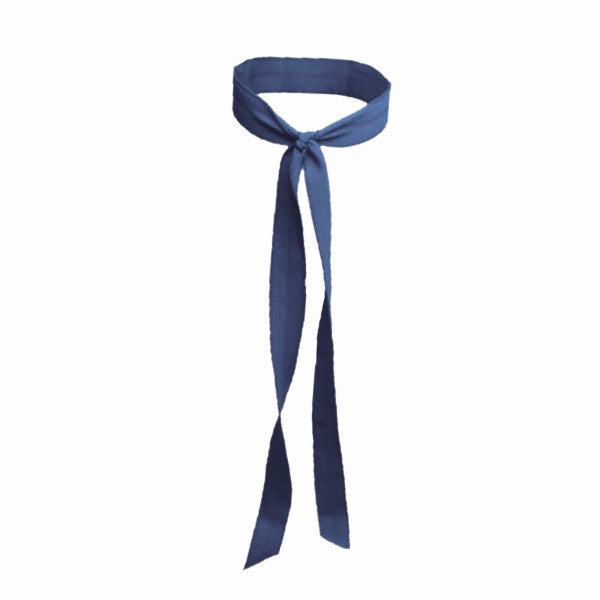 Matte Long Tail in Navy - Bandtz Hair Tie