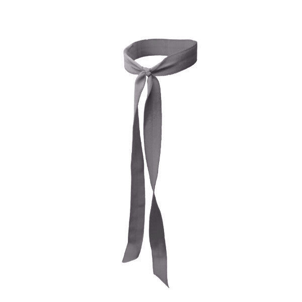 Bandtz Matte Long Tail hair tie in Charcoal