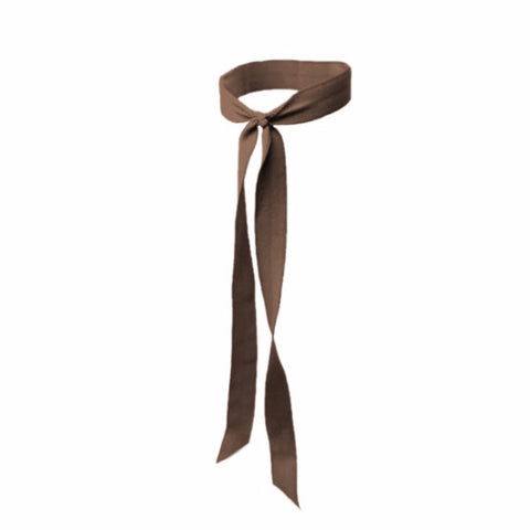 Matte Long Tail in Brown. Bandtz Hair Tie