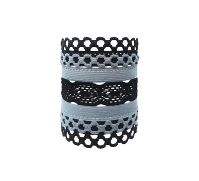Aura Set. Five Bandtz hair bands. Strong workout hair ties with style. Hair ties, hair elastics, hair bands that won't hurt your hair.