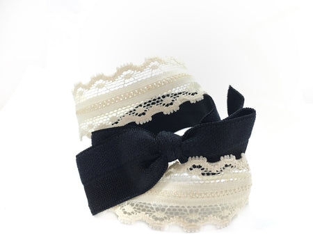 Dentelle Bow Set