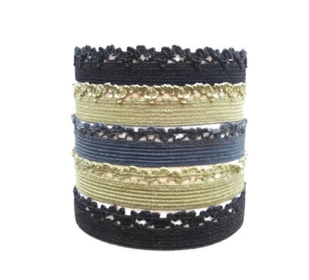 Ava Set. Five Bandtz hair bands. Favorite hair ties. No tangle, safe.