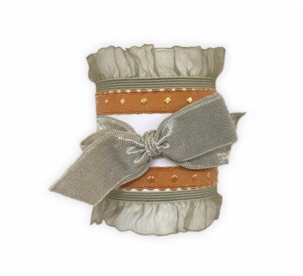 Selene Set- Bandtz. Five stylish hair ties in neutral colors.