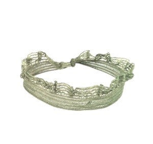 Close up of frill Bandtz hairband. As featured in the Bandtz Sage Set.
