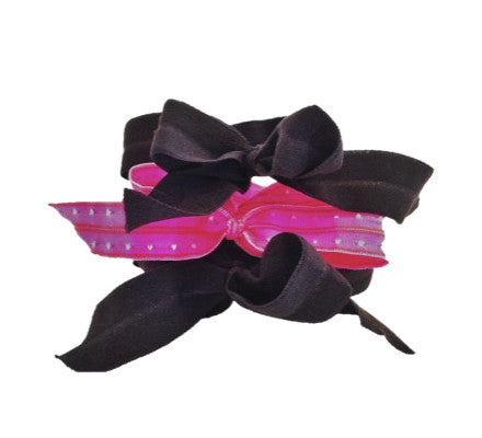 Eloise Set by Bandtz. Three elastic hair bows.