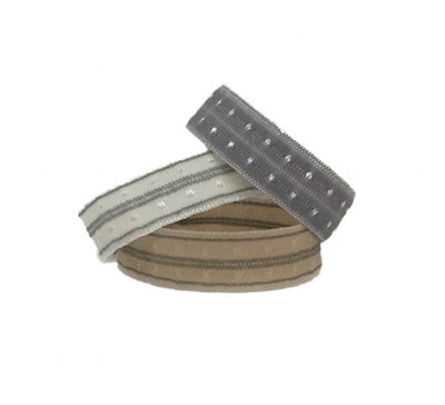 Bandtz Swiss Dot Cuff Set. Three hair ties in neutral color. Chic hair ties. Limited edition