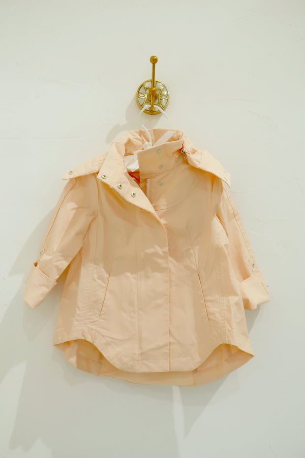 Children's Rain Coat in Blush