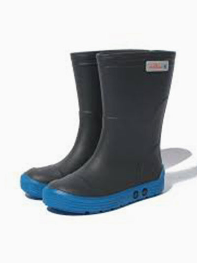 Méduse Children's Rainboots in Navy/Black