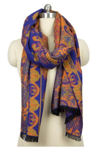 Marrakech Scarf in Blue