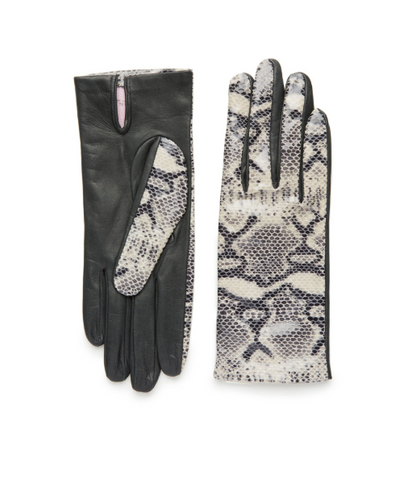 Python Leather Gloves