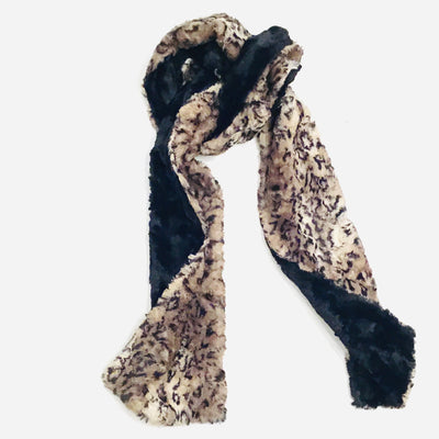 Two-sided Faux Fur Scarf
