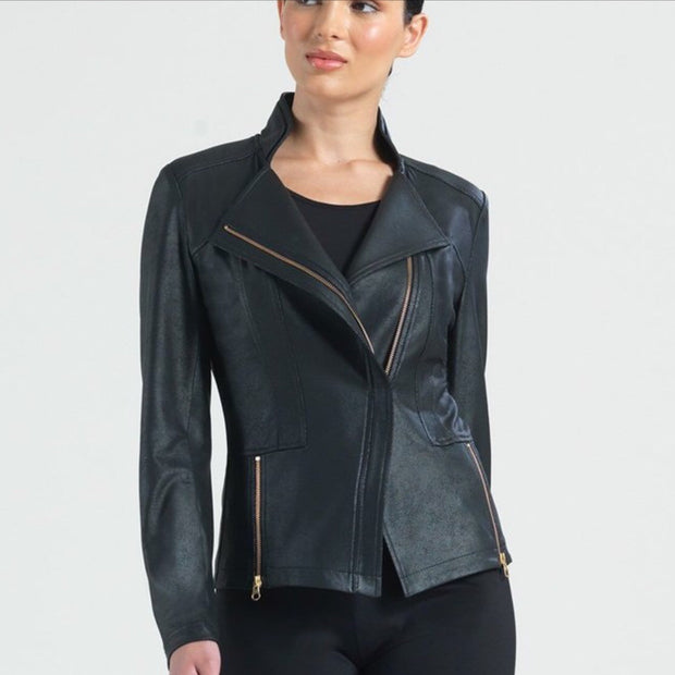 Clara Sunwoo Liquid Leather Jacket