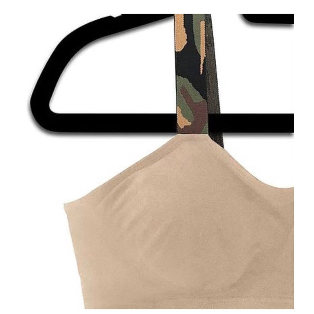 Strap-it's Bra / Nude with Camo Straps
