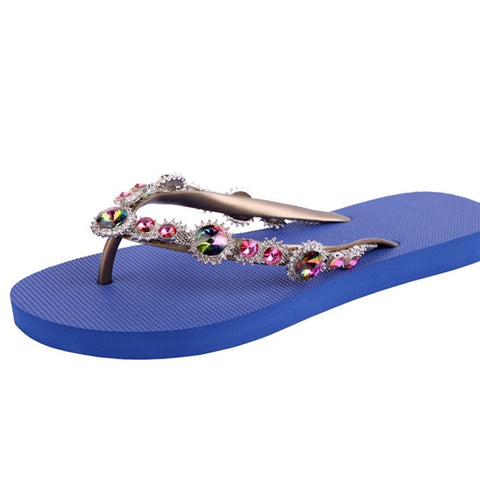 Jeweled Flipflops