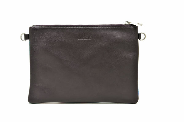 Sleek clutch bag