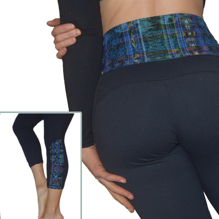 Huipil Blue Legging