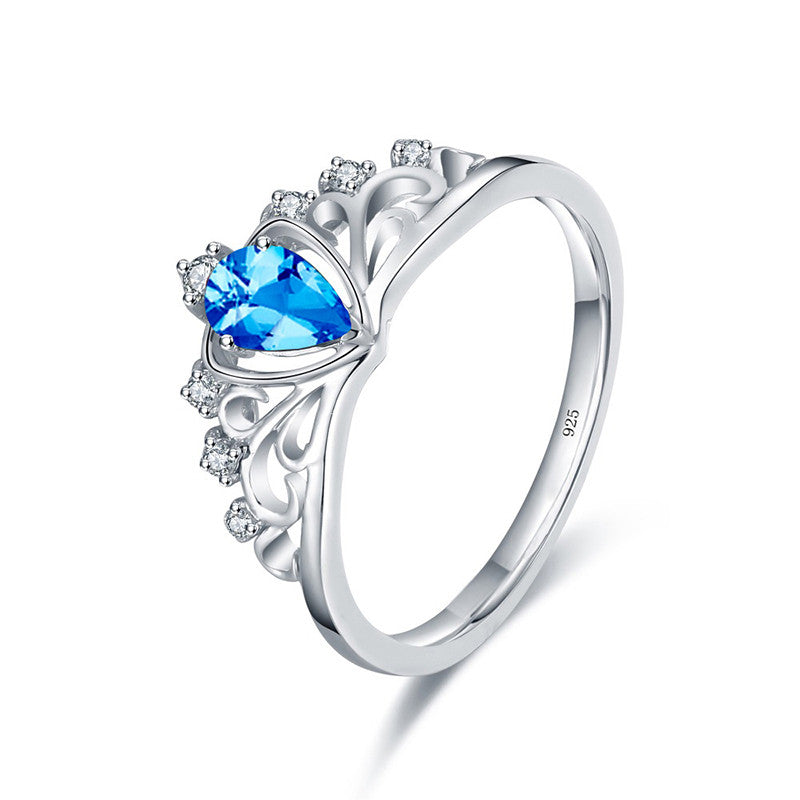 cut mm rings white topaz blue london jewelry diamond com dp sizes gold natural ring amazon cushion