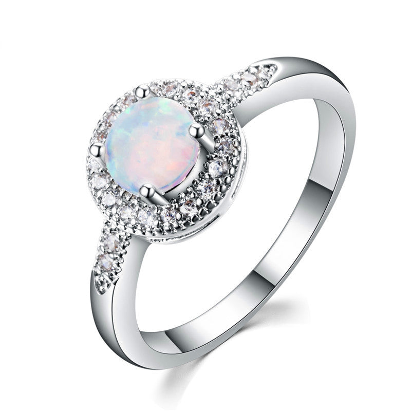 birthstone rings october jewelry