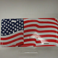 US Flag - License Plate