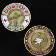 Proud Dustoff Wife Coin