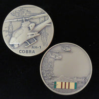 AH-1 Cobra Helicopter Vietnam Commemorative Coin