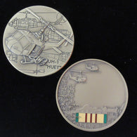UH-1 Huey Helicopter Vietnam Commemorative Coin