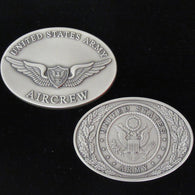Aircrew Wings Oval Coin