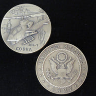 AH-1 Cobra Helicopter Coin