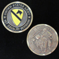 1st Cavalry Division Coin