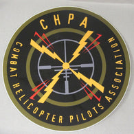 CHPA - Combat Helicopter Pilots Association Decal