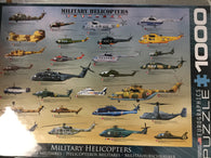 Military Helicopters Puzzle