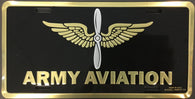 Army Aviation Branch License Plate