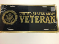 US Army Veteran - License Plate