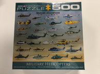 Military Helicopters Puzzle(500 PCS)