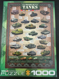 History of Tanks Puzzle - 1000 piece