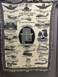 Fort Rucker Throw Blanket