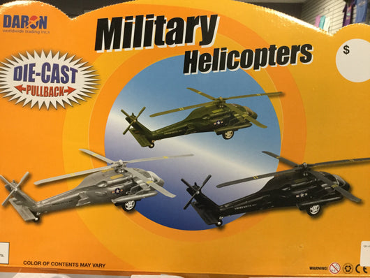 UH-60 Black Hawk Helicopter Pullback Toy