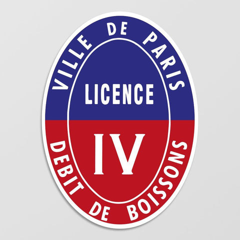Panneau de Licence 4 / Paris (75) Licence IV (Paris) MCA Group