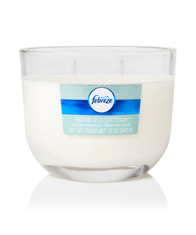 Febreze Home Collection Scented Jar Candle, Seagrass Breeze, 12 oz, Single