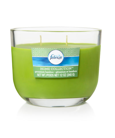 Febreze Home Collection Scented Jar Candle, Pineapple Smoothie, 12 oz, Single