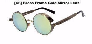 Brass and Gold Steampunk Sunglasses