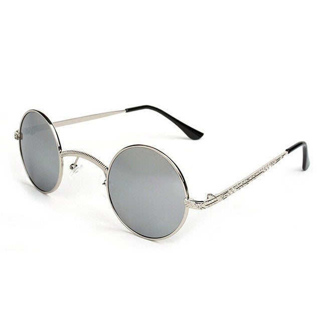 Steampunk Small Round Vintage Sunglasses