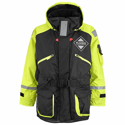 Fladen Scandia Floatation Jacket Black/Yellow