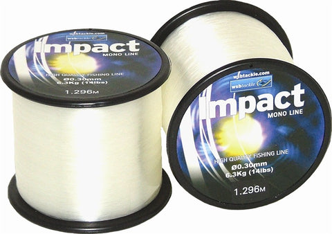 4oz Spool WSB Impact Mono Crystal Clear
