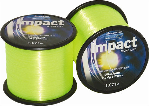 4oz Spool WSB Impact Mono Lumi Yellow