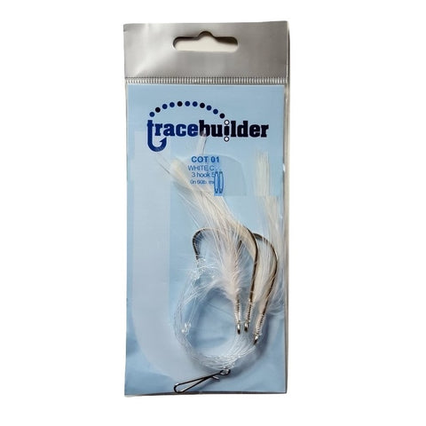 Tracebuilder White Feather 5/0