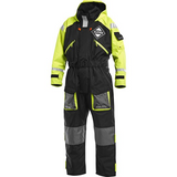 Fladen 1 Piece Scandia Flotation Suit Black / Yellow