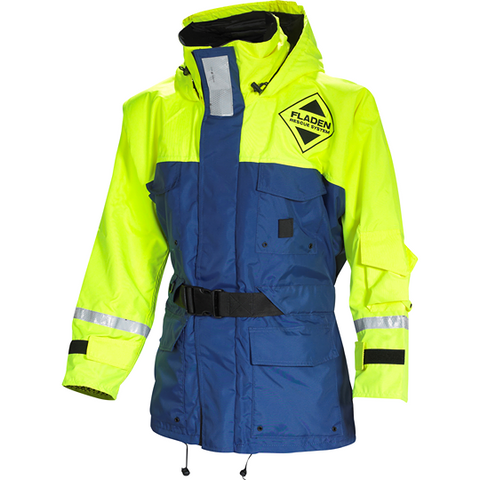 Fladen Scandia Floatation Jacket Blue/Yellow
