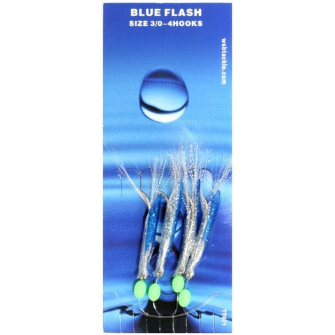 WSB 4 Hook Blue Flash