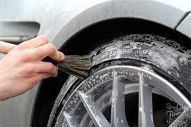 Car Tire Inflation Chart, Scrub Your Tires Using A Brush Scrub The Entire Surface Of The Tire You Shouldnt Be Applying Excess Pressure But Feel Free To Use Some Extra Elbow, Car Tire Inflation Chart